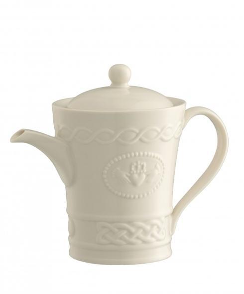 Belleek  Claddagh Tableware Claddagh Beverage Pot $90.00