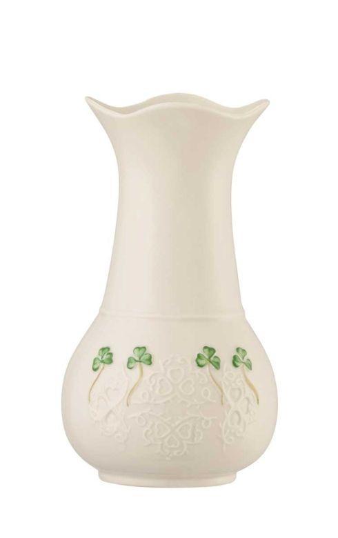 """Belleek  Shamrock Lace Shamrock Lace, 7"""" Vase $40.00"""