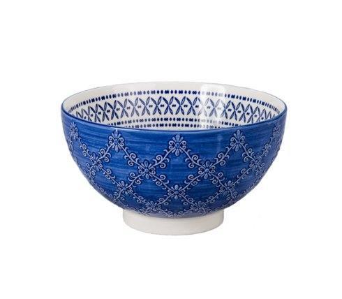 B.I.A. Cordon Bleu  ooh la la! Trellis Bowl Blue $22.00