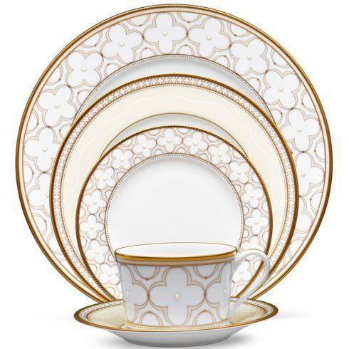 Noritake  Trefolio Gold 5 Piece Place Setting $119.00