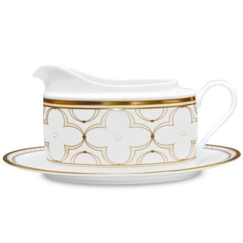 Noritake  Trefolio Gold Gravy with Tray $139.00