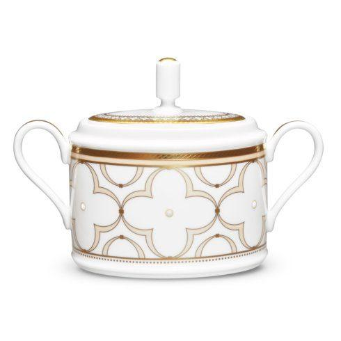 Noritake  Trefolio Gold Sugar with Cover  $111.00