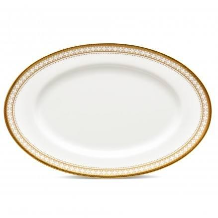 Noritake  Trefolio Gold Butter/ Relish Tray $46.00