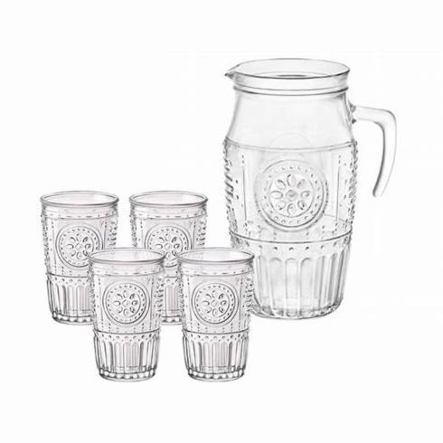 $36.00 Romantic 5 Piece Drink Set