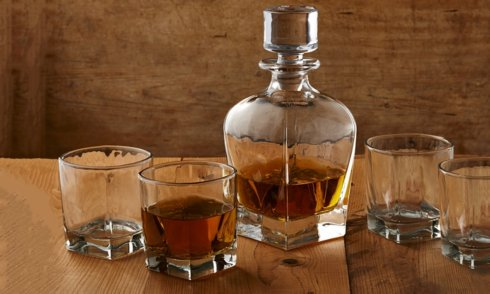 Artland  Barkeep  Glacier Whiskey Set, 5 Piece $50.00