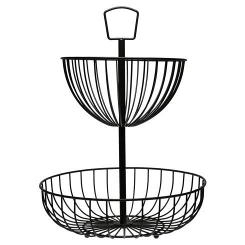 B.I.A. Cordon Bleu  Kitchen & Home Strand Wire 2 Tier Basket $38.00