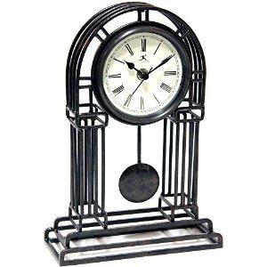 Infinity Instruments   Cathedral Pendulum Clock $54.00