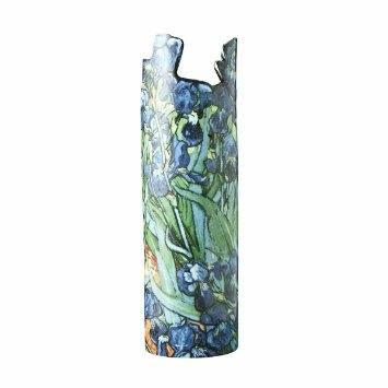 Live With It by Lora Hobbs Exclusives  Silhoette d'Art Irises Vase - Van Gogh $62.00