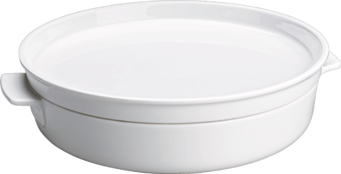 "Villeroy & Boch  Clever Cooking 11"" Round Baking Dish With Lid $85.00"