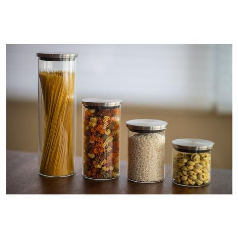 $65.00 Set of 4 Borosilicate Glass Storage Jars