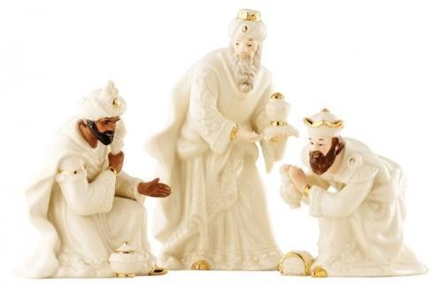Belleek  Nativity Collection Classic Nativity Three Kings Set $95.00