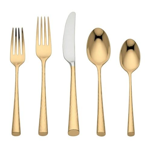 Marchesa by Lenox  Imperial Caviar Gold Flatware 5 Piece Place Setting $90.00
