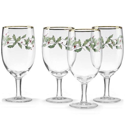 Lenox  Holiday Barware Iced Beverage Glasses, Set of 4 $40.00