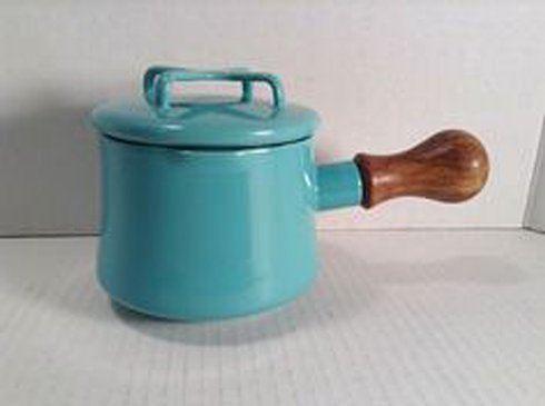 $85.00 Teal 1 Qt Sauce Pan with Lid/ Hot Cocoa Pot