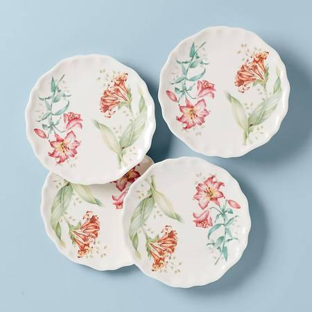 $35.00 Accent Plates, Set of 4