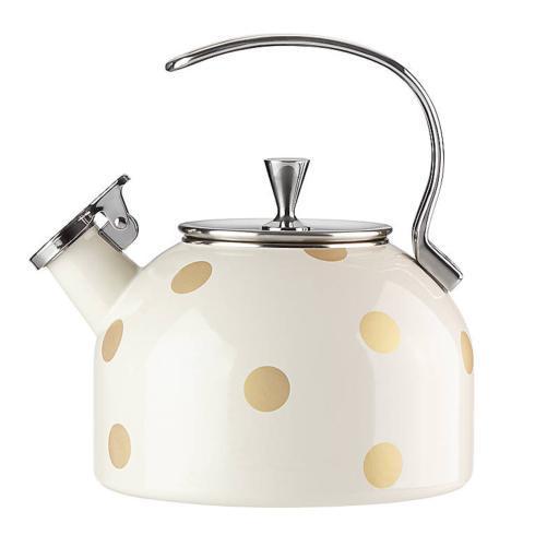 Kate Spade  Cookware and Tea Kettles  Gold Dot Tea Kettle $60.00