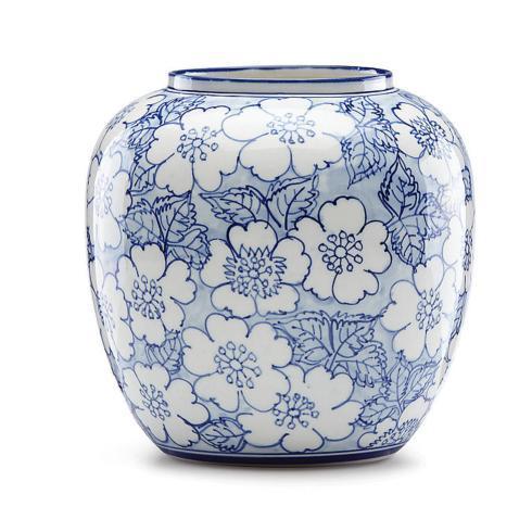 Lenox  Painted Indigo Floral Round Vase $65.00