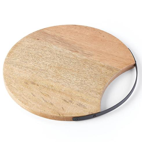 $40.00 Wood Cutting Board with Handle