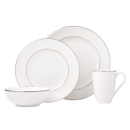 Lenox  Continental Dining Platinum 4 Piece Place Setting $90.00