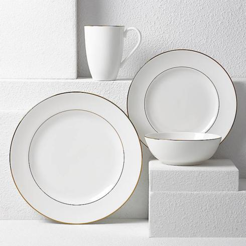 Lenox  Continental Dining Gold 4 Piece Place Setting $90.00