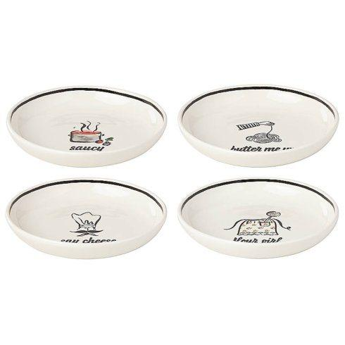 Kate Spade  There\'s A-More Pasta Bowls, Set of 4 $55.00
