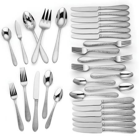 $170.00 65 Piece Flatware Set