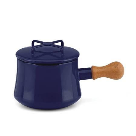 Midnight Blue 1 Qt Sauce Pan with Lid/ Hot Cocoa Pot