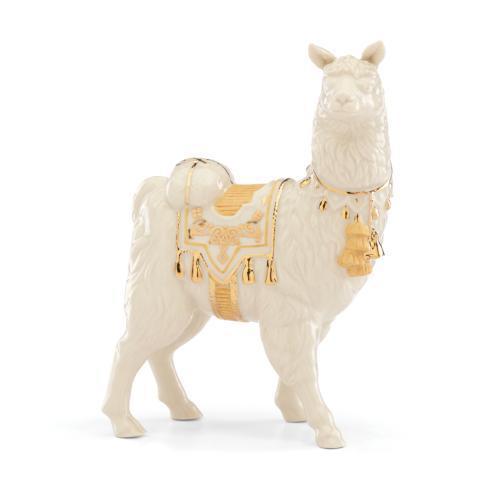 Lenox  First Blessing Nativity Llama $80.00
