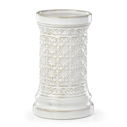 Lenox  Global Tapestry Small White Pillar Candle Holder $30.00