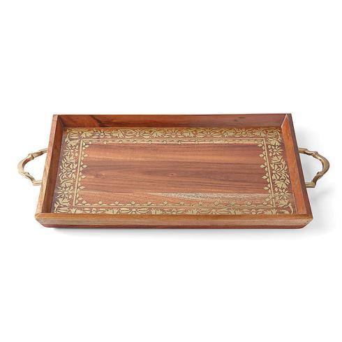 Lenox  Global Tapestry Wood Handled Rectangular Tray $120.00