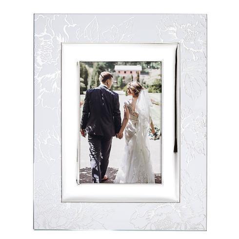 Lenox  Silver Peony Glass 5x7 Frame $60.00