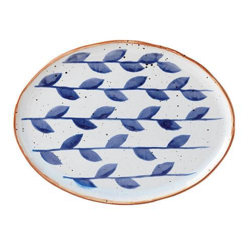$45.00 Oval Plate Vines