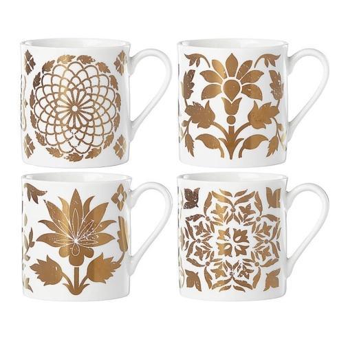 Dessert Mugs, Set of 4