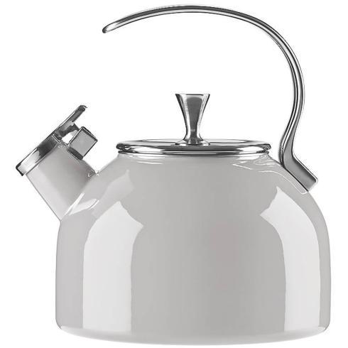 Kate Spade  Cookware and Tea Kettles  Light Grey Tea Kettle $60.00