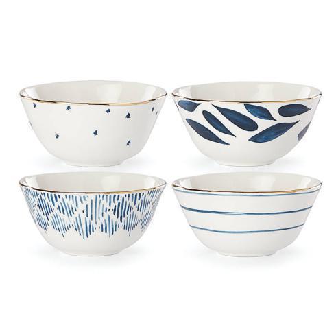 Lenox  Blue Bay Dessert Bowls, Set 4 $50.00