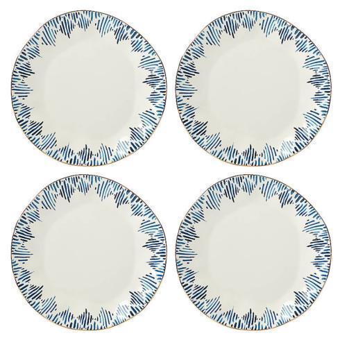 Lenox  Blue Bay Ikat Dinner Plates, Set 4 $70.00