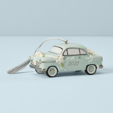Lenox Ornaments 2021 Annual Just Married Vintage Car $35.00