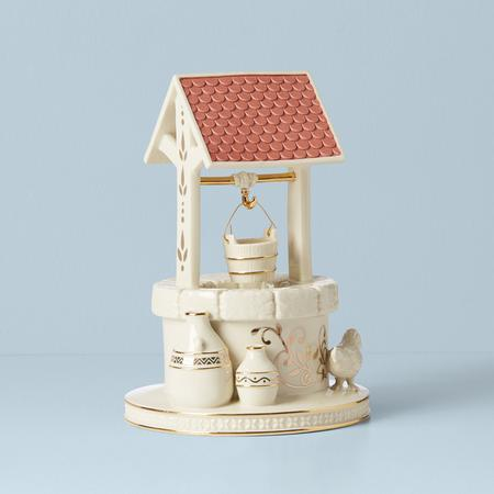 Lenox  First Blessing Nativity Town Water Well $90.00