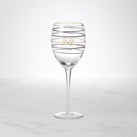 Kate Spade  Doodle Away Wine Glass $20.00