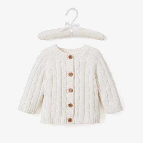 $36.00 Cream Cable Knit Sweater