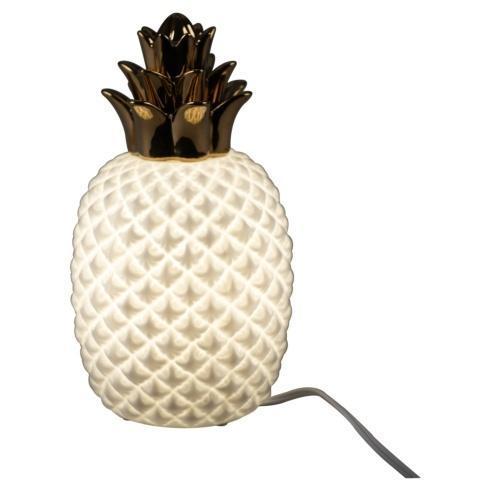 Pineapple Porcelain Lamp