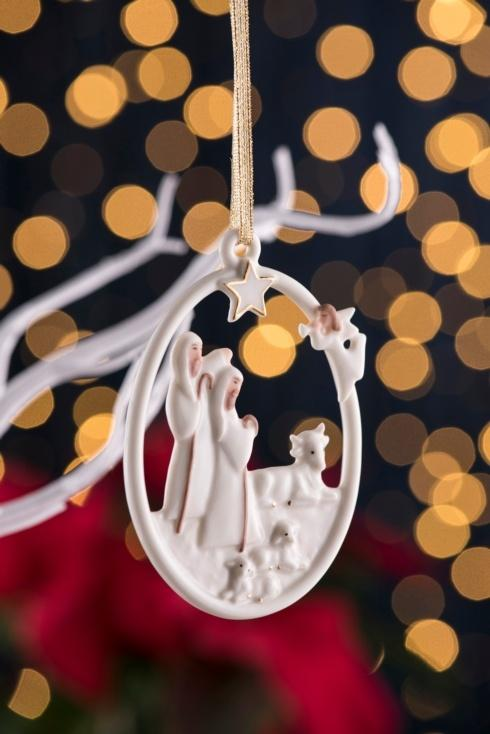 $25.00 Shepherd\'s Nativity Ornament