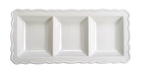 $21.00 Divided Rectangular Platter
