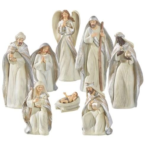 Live With It by Lora Hobbs Exclusives  Christmas All That Glistens 8 Piece Nativity Set $120.00