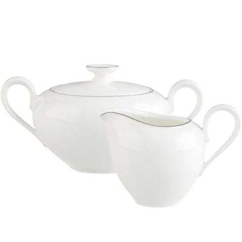 Villeroy & Boch  Anmut Platinum Creamer & Covered Sugar Set $126.00