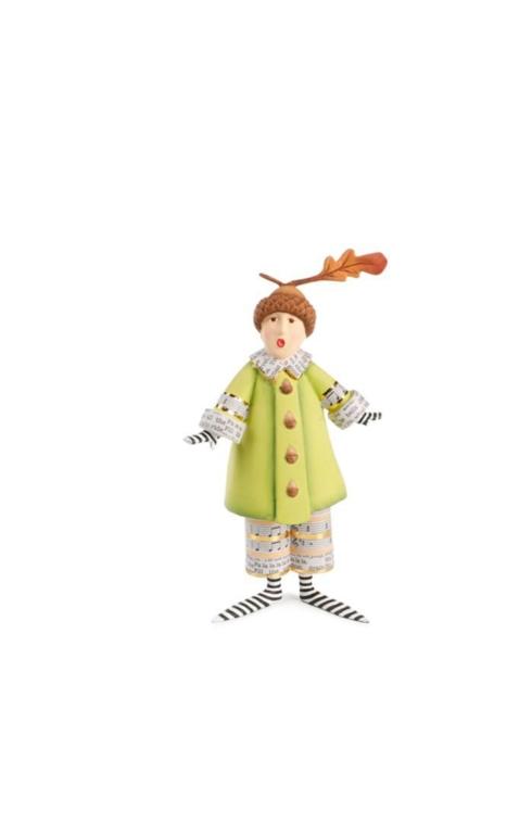 Arlo Acorn Hat Holiday Caroler figure