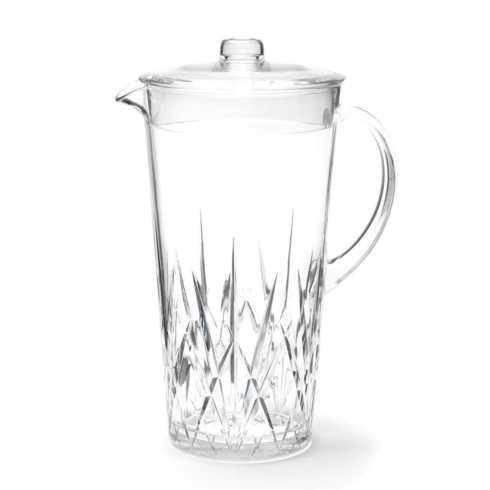 Q Squared  Aurora Drinkware Crystal Pitcher $37.00