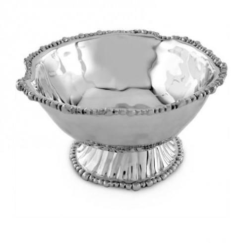 Live With It by Lora Hobbs Exclusives  Beatriz Ball Organic Pearl Ava Pedestal Bowl $142.00