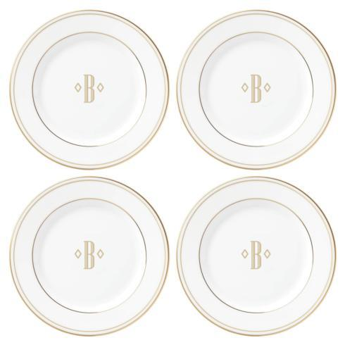 $49.95 Set of Four Tidbit Plates, B