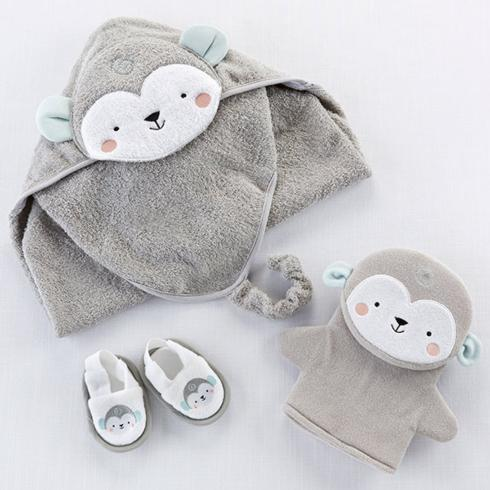 $38.00 Monkey 3 Piece Bath Set
